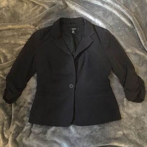 Forever 21 Women's Black Crop Jacket